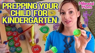 TIPS FOR KINDERGARTEN READINESS! | Millennial Moms