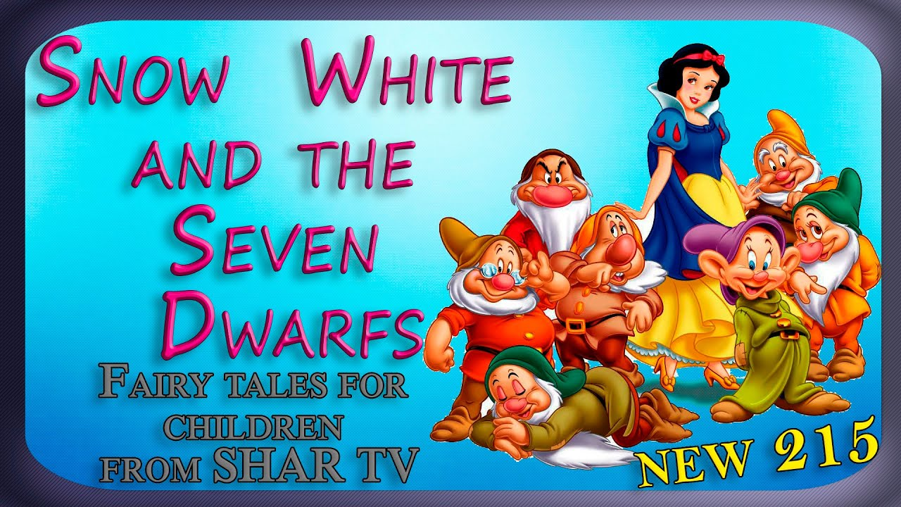 Cartoon snow white and the seven dwarfs  pron image