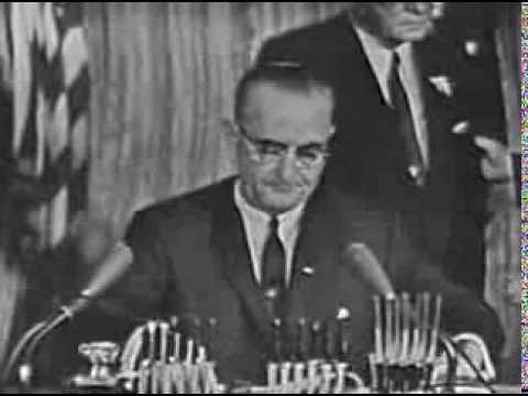 Excerpt: Signing of Civil Rights Act