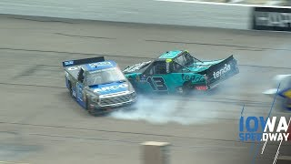 Sauter crashes into Hill under caution, gets parked by NASCAR