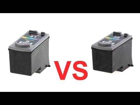В чем разница между цветными картриджами струйного принтера, обычного и увеличенного объема