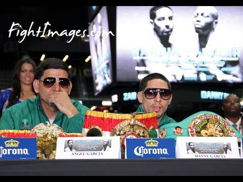 DANNY Swift GARCIA Final Press Conference for his fight against ZAB JUDAH