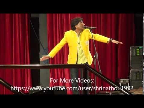 Live Comedy Performance By Raju Srivastav  Iit Bombay During Mood Indigo 14-15 Part 4 video