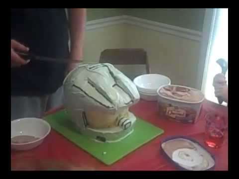 How to Make an XBox 360 Halo Cake