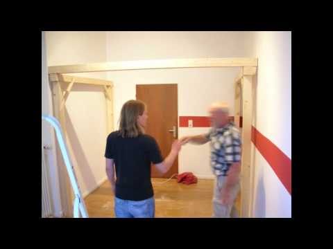 Time Lapse - Building a loft bed