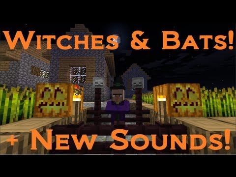 Minecraft + Mojang News: Witches, Bats & Sound Effects! video