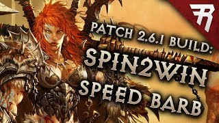 Diablo 3 Season 16 Barbarian Wrath of the Wastes whirlwind Speed build guide + bounties: Patch 2.6.4