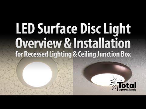 led disc light overview installation by total recessed lighting. Black Bedroom Furniture Sets. Home Design Ideas