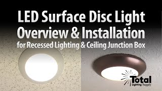(22.3 MB) Sylvania Ultra LED Disc Light Overview & Installation by Total Recessed Lighting Mp3