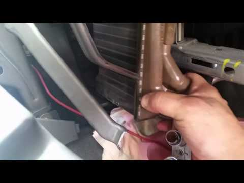 2005 Jeep Grand Cherokee heater core hack