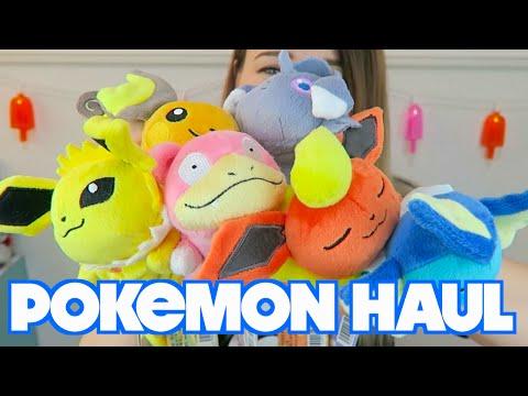 JAPAN POKEMON CENTER HAUL | Pikachu Gummi Candy + Kuttari Plushies