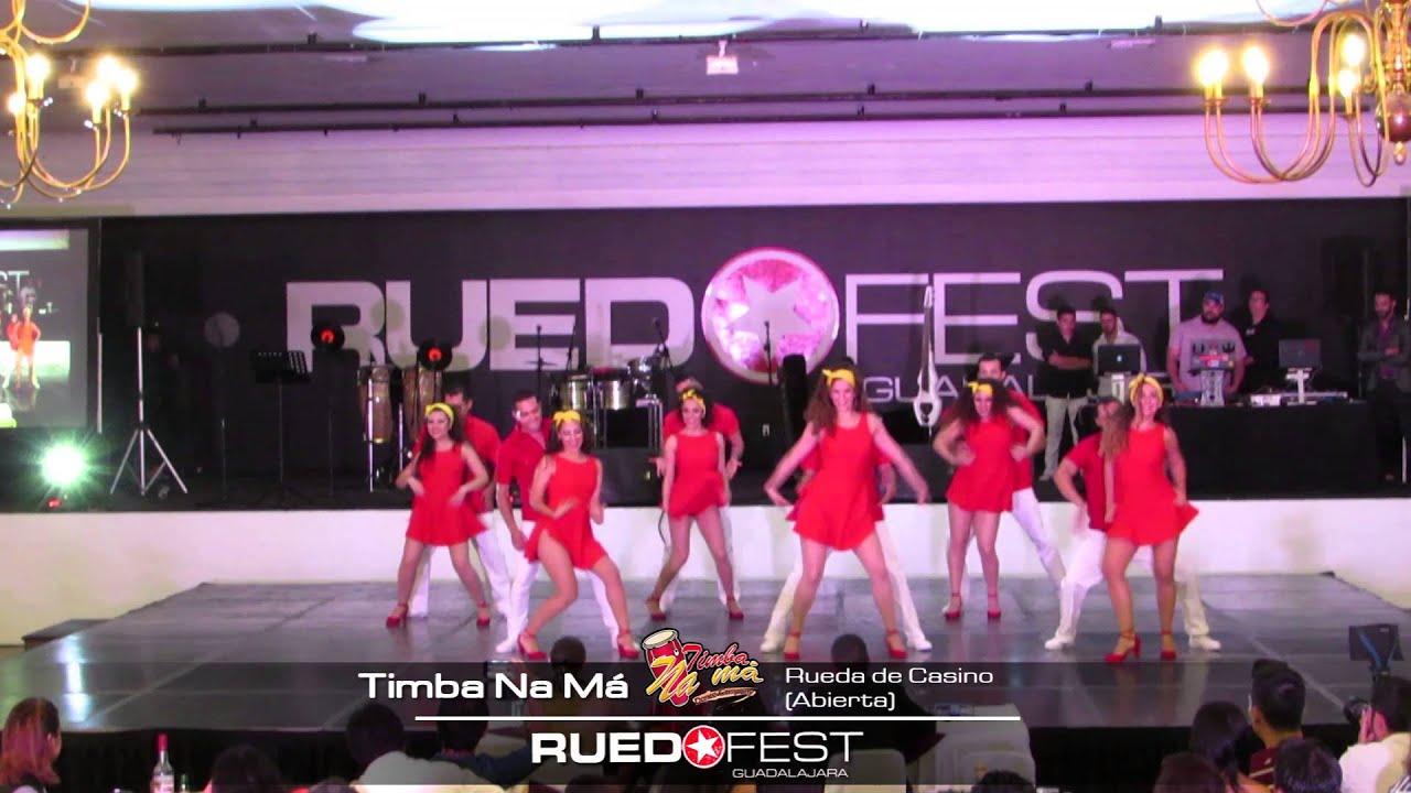 Timba Na Ma (Rueda de Casino Abierta) | Ruedafest 2015 | Guadalajara