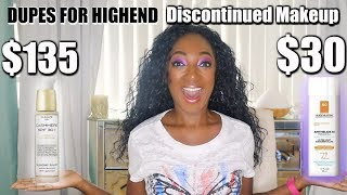 Dupes for Highend Makeup that is Discontined | Best Discontinued Makeup
