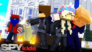 Download Minecraft SPY KIDS-DONNY & LEAH ARE ON THE SECRET MISSION TO SAVE THE PRESIDENT!!! 3Gp Mp4
