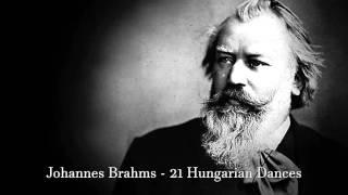 Johannes Brahms 21 Hungarian Dances Full
