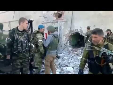 Tanks Fire on Positions of Ukrainian Law Enforcers, Donetsk Airport | Ukraine War
