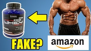 Amazon Sell Fake Whey Protein or Original? - Ultimate Nutrition Prostar