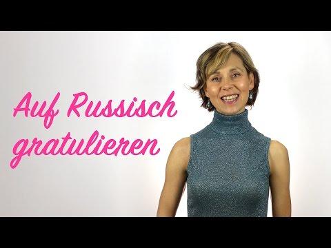 Auf Russisch gratulieren