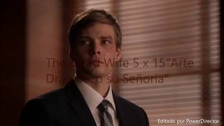 The Good Wife 5 x 15 Arte Dramático Español Latino