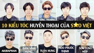 30Shine TV | 10 Kiểu tóc huyền thoại của Sao Việt | Từ Đan Trường 2004 tới Sơn Tùng MTP 2017