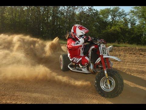 1985-1986 Honda ATC250R Motocross Project Part 2, Building a Factory Honda Beater