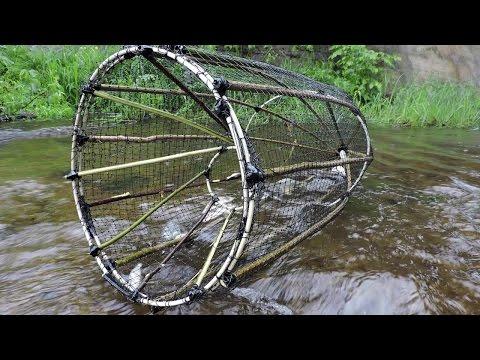 Ловушка для рыбы-Верша/Морда/Ятерь/Мережа Изготовление