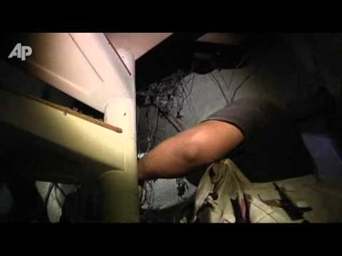 Raw Video: Underground Tunnel Found in Tripoli