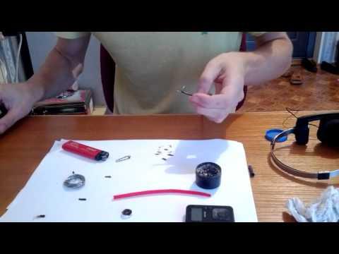 Как сделать из наушников вакуумные