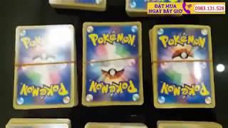 Tuyển Tập Các Mẫu Thẻ Bài Pokemon Cards Chính Hãng Độc, Hiếm Nhất