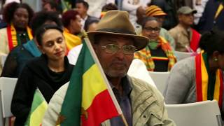 Ethiopian rally in Perth, WA in Support of PM Abiy Ahmed and his reforms  1 July 2018