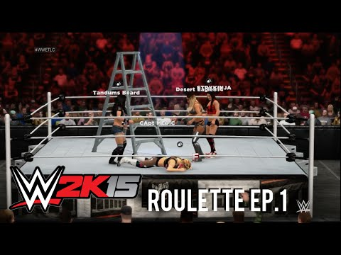 WWE 2K15 Roulette Episode 1: TLC Fatal 4 way Divas Match Ft. Aj Lee, Cameron, Nikki Bella & Natalya