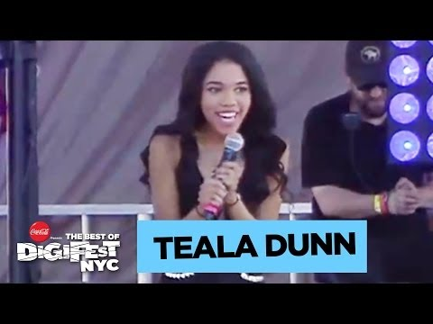 Teala Dunn | DigiFest NYC Presented by Coca-Cola