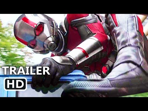 ANT-MAN AND THE WASP Trailer # 2 (NEW 2018) Ant-Man 2 Superhero Movie HD