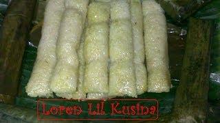 Cooking | Suman Malagkit Filipino Kakanin rice cake | Suman Malagkit Filipino Kakanin rice cake