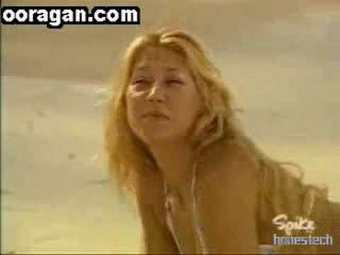 Anna Kournikova Beach Video