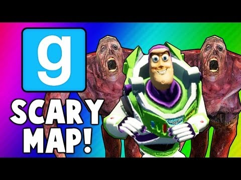 Gmod Scary Maps 4 - Used Condom Puzzle, Early Halloween! (Garry's Mod Funny Moments)
