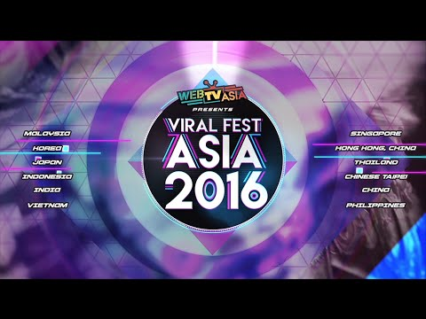 Viral Fest Asia 2016 - Everybody's going viral!