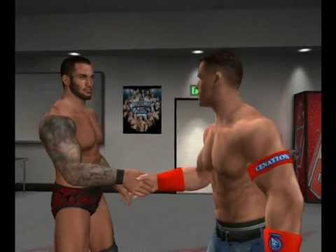 Wwe 2012 Randy Orton vs John Cena Wwe'12 Randy Orton And John