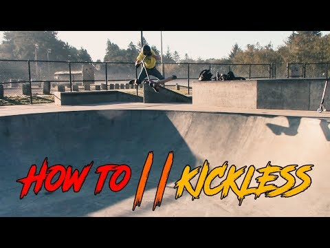 Scooter tutorial: HOW TO KICKLESS REWIND