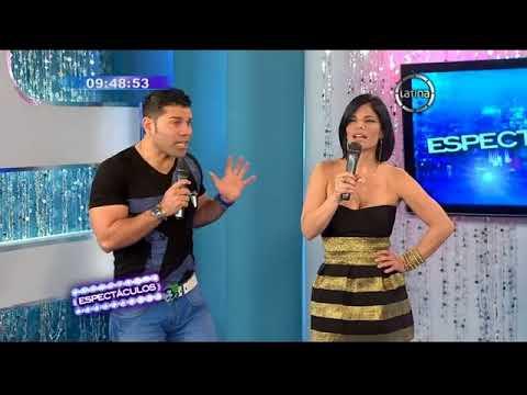 Edwin Sierra volvió a los escenarios acompañado de Tula Rodriguez