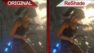 SBS Comparison | Rise of the Tomb Raider | Original VS ReShade | ULTRA | + BENCHMARK !