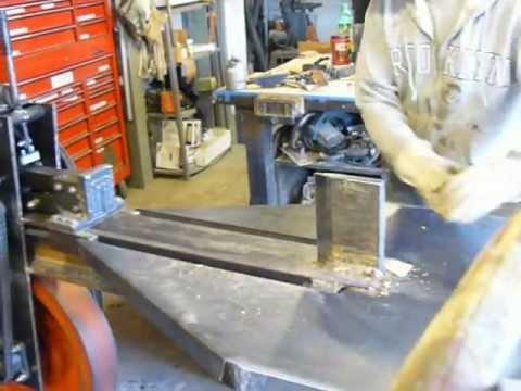 Kinetic baler Flywheel log wood splitter. Splitfire Supersplit
