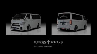 TOYOTA 200HIACE 4# BodyKits by Rowen Japan.