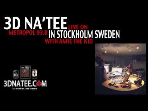 @3DNATEE visits Metropol 93.8 in STOCKHOLM SWEDEN
