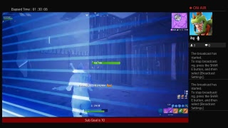 Fortnite ps4 Live Stream // Family Friendly Stream / Grind to 100 subs