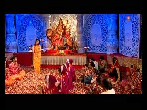 Nange Pairon Maa Ke Dar Full Song I Phoolon Mein Saj Rahi Sheronwali...