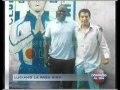 """El """"negro Lucky"""" Luciano no la pasa mal en penal San Jorge"""