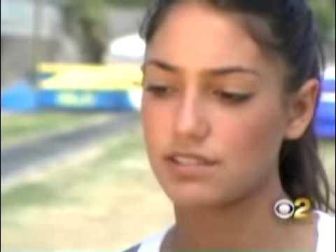 Allison Stokke Newfound Fame on CBS2/KCAL9 - YouTube