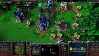 TH000(HU) vs Moon(NE) - WarCraft 3 Frozen Throne - RN3862