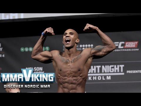 UFC Sweden 3 Weigh Ins Nico Musoke vs. Alexander Yakovlev